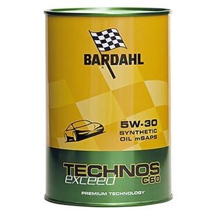 Моторное масло Bardahl Technos C60 5W-30 Exceed (1 л.) 322040