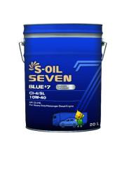 Моторное масло S-Oil Seven BLUE7 CI-4/SL 10W-40 (20 л.) E107880