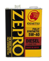 Моторное масло Idemitsu Zepro Diesel 5W-40 (4 л.) 2863-004