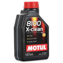 Моторное масло Motul 8100 X-Clean 5W-30 (1 л.) 102785