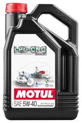 Моторное масло Motul LPG-CNG 5W-40 (4 л.) 110669