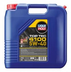Моторное масло Liqui Moly Top Tec 4100 5W-40 (20 л.) 3702