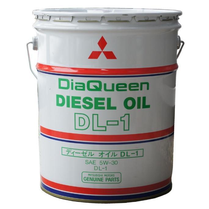 Моторное масло Mitsubishi DiaQueen Diesel 5W-30 DL-1  (20 л.) 8967401