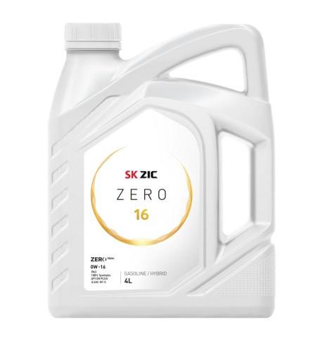 Моторное масло Zic Zero 0W-16 (4 л.) 162034