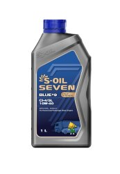 Моторное масло S-Oil Seven BLUE9 CI-4/SL 10W-40 (1 л.) E107855