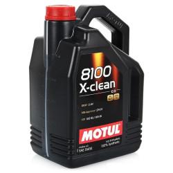 Моторное масло Motul 8100 X-Clean 5W-30 (5 л.) 102020