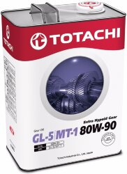 Трансмиссионное масло Totachi Extra Hypoid Gear 80W-90 (4 л.) 4562374691964