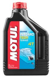 Масло четырехтактное Motul Inboard Tech 4T 10W-40 (2 л.) 106417