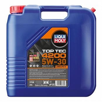 Моторное масло Liqui Moly Top Tec 4200 5W-30 (20 л.) 3708