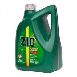 Моторное масло ZIC 5000 Power Diesel 15W-40 (6 л.) 177126