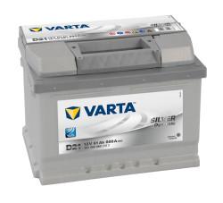Аккумулятор Varta Silver Dynamic 61Ah 600A 242x175x175 о.п. (-+) 561400060