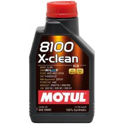 Моторное масло Motul 8100 X-Clean 5W-40 (1 л.) 102786
