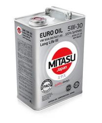 Моторное масло Mitasu MJ-210 Euro Diesel LL 5W-30 (4 л.) MJ2104