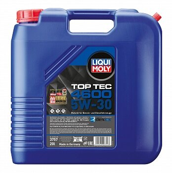 Моторное масло Liqui Moly Top Tec 4600 5W-30 (20 л.) 3757