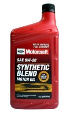Моторное масло Ford Motorcraft 5W-20 Synthetic Blend (1 л.) XO-5W20-QSP