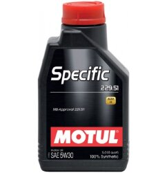 Моторное масло Motul Specific MB 229.51 5W-30 (1 л.) 101588