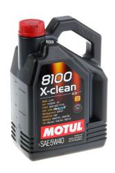 Моторное масло Motul 8100 X-Clean 5W-40 (4 л.) 104720