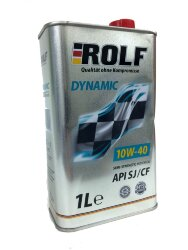 Моторное масло Rolf Dynamic 10W-40 SJ/CF (1 л.) 322235