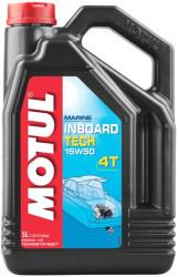 Масло четырехтактное Motul Inboard Tech 4T 15W-50 (5 л.) 101743