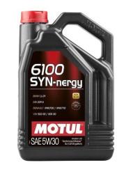 Моторное масло Motul 6100 Syn-Nergy 5W-30 (5 л.) 107972