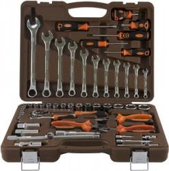 Набор инструмента Ombra 1/4, 1/2DR, 55 предметов OMT55S