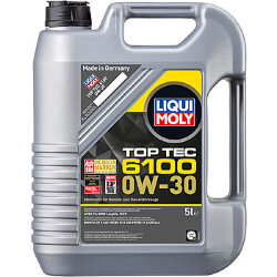 Моторное масло Liqui Moly Top Tec 6100 0W-30 (5 л.) 20779