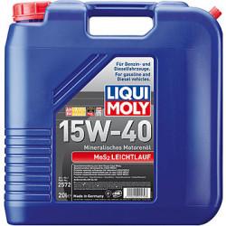 Моторное масло Liqui Moly MoS2 Leichtlauf 15W-40 (20 л.) 2572