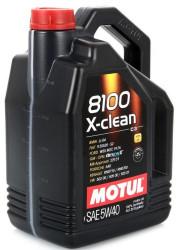 Моторное масло Motul 8100 X-Clean 5W-40 (5 л.) 102051