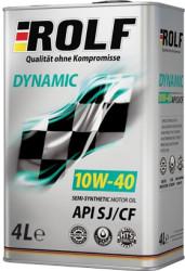 Моторное масло Rolf Dynamic 10W-40 SJ/CF (4 л.) 322230