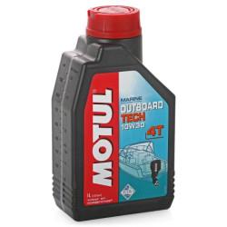 Масло четырехтактное Motul Outboard Tech 4T 10W-30 (1 л.) 106453