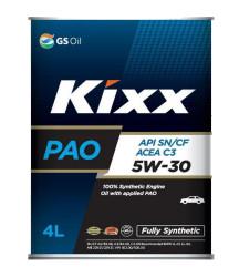 Моторное масло Kixx PAO 5W-30 (4 л.) L209144TE1