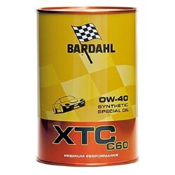 Моторное масло Bardahl XTC C60 0W-40 (1 л.) 300040
