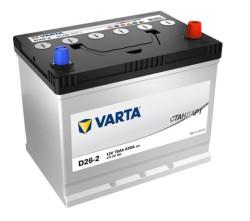 Аккумулятор Varta Стандарт 70Ah 620A 258x175x223 о.п. (-+) 570301062