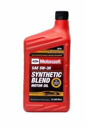 Моторное масло Ford Motorcraft 5W-30 Synthetic Blend (1 л.) XO-5W30-QSP
