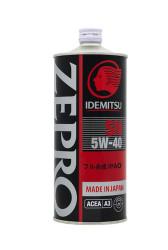 Моторное масло Idemitsu Zepro Racing 5W-40 (1 л.) 3585-001