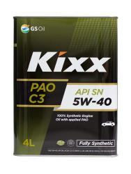 Моторное масло Kixx PAO 5W-40 (4 л.) L209244TE1