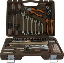 Набор инструмента Ombra 1/4, 1/2DR, 75 предметов OMT75S