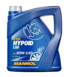 Трансмиссионное масло Mannol Hypoid LSD 85W-140 (4 л.) 81054