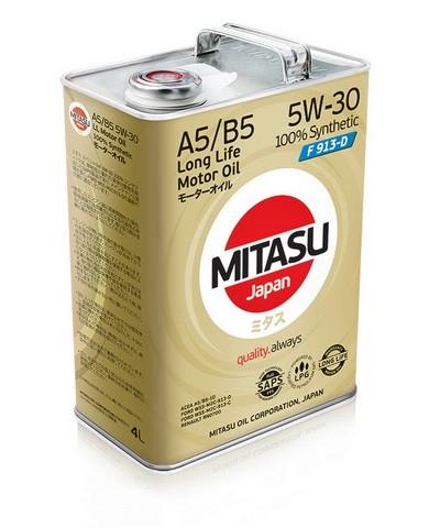 Моторное масло Mitasu MJ-F11 Special F 5W-30 (4 л.) MJF114