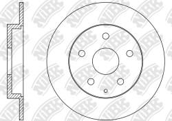 Тормозной диск NiBK RN1517
