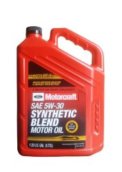 Моторное масло Ford Motorcraft 5W-30 Synthetic Blend (5 л.) XO-5W30-5QSP