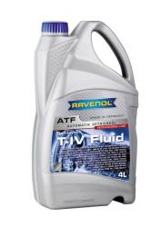 Трансмиссионное масло Ravenol ATF T-IV Fluid (4 л.) 1212102-004-01-999