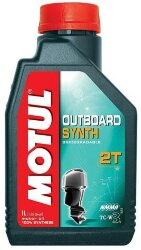 Масло двухтактное Motul Outboard Synth 2T (1 л.) 101722