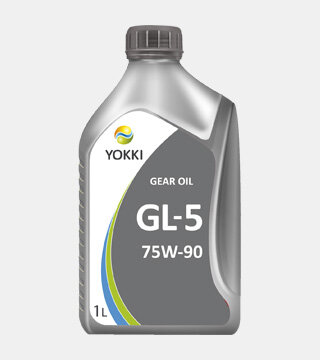Трансмиссионное масло Yokki Gear Oil 75W-90 GL-5 (1 л.) YBA02-1001P