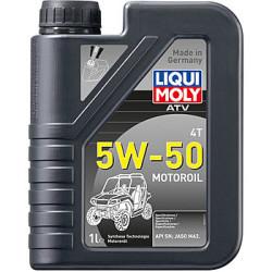 Масло четырехтактное Liqui Moly ATV 4T Motoroil 5W-50 (1 л.) 20737