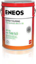 Моторное масло Eneos Gasoline Super Touring SN 5W-50 (20 л.) 889478941752