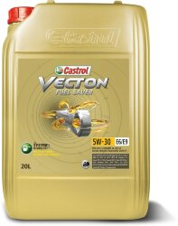 Моторное масло Castrol Vecton Fuel Saver 5W-30 E6/E9 (20 л.) 157AEA