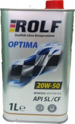 Моторное масло Rolf Optima 20W-50 (1 л.) 322246