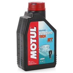 Масло двухтактное Motul Outboard Tech 2T (1 л.) 102789