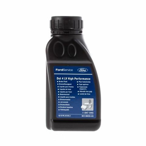 Тормозная жидкость Ford DOT 4 LV High Performance (0,25 л.) 1847945